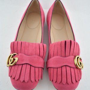 [BNIB] Gucci Marmont Suede Ballerina Flat Size 8.5